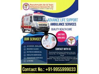 ALS Ambulance Service in Imphal by Panchmukhi