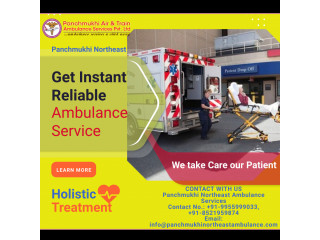 Instant Reliable Ambulance Service in Manipur by Panchmukhi