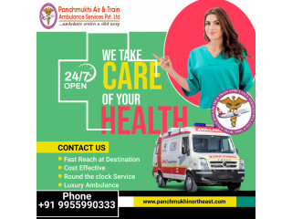 All Types of Ambulance Service in Tamenglong by Panchmukhi