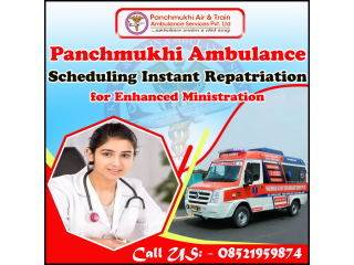Rapid and Safe Ambulance Service in Connaught Place by Panchmukhi