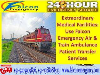 Use the Best Medical Train Ambulance Facilities in Varanasi by Falcon Emergency