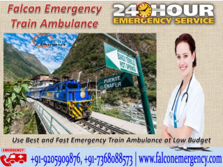 Opt for Falcon Emergency Train Ambulance in Silchar for Optimal Care