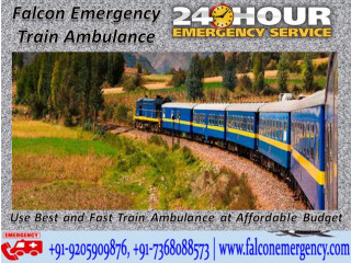 Locate a Healthcare Center with Falcon Emergency Train Ambulance in Mumbai