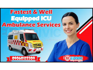 Easily Patient Shifting Ambulance Service in Patna by Medivic