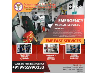 Hire Affordable Ambulance Service in Manipur by Panchmukhi