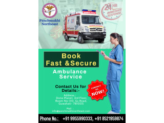 Get Safe and Fast Ambulance Service in Manipur by Panchmukhi