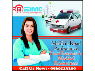 Medivic Road Ambulance Service in Purnia- Fully Furnished Vehicles