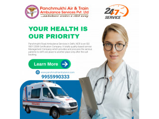 Cardiac Ambulance Service in Defence Colony by Panchmukhi
