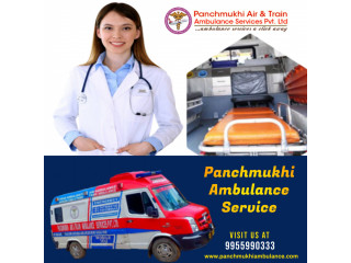 High-Tech Ambulance Service in Dilshad Garden by Panchmukhi