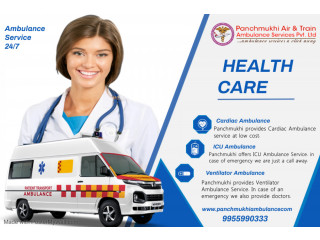 Quick and Secure Ambulance Service in Ghaziabad by Panchmukhi