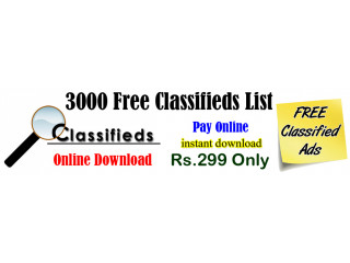 Free Classifieds India
