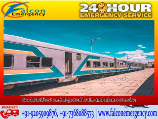 Cautious Transportation Offered by Falcon Emergency Train Ambulance in Patna