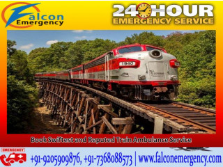 Falcon Train Ambulance Service in Bangalore- Rescuing Patients in Medical Trauma