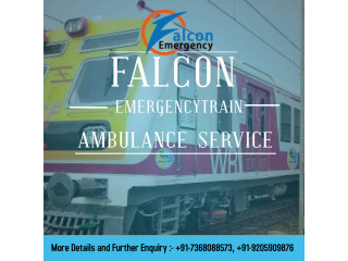 Falcon Emergency Train Ambulance Bangalore - Taking Care of the Patients in Medical Trauma