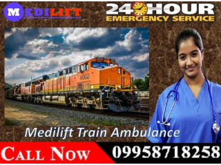 Get Best and Advance Train Ambulance Service in Patna with Medical setup
