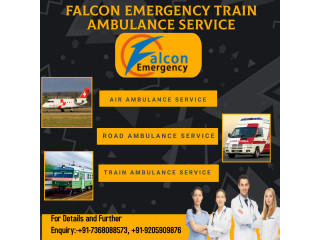 Get Falcon Train Ambulance Service in Patna with Best Medical Facilities