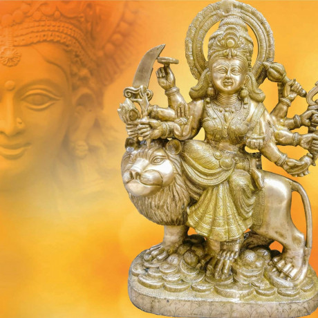 24-inch-2-feet-fine-carved-indian-bhagwatidurga-i-b-big-3