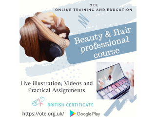 Beauty and Hair Professional Course - Admissions Start