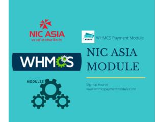 NIC ASIA WHMCS Payment Gateway Module Nepal - WHMCS Payment Module