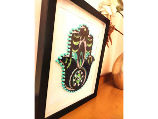 Unique gifts for home Hamsa Hand with decorate your home