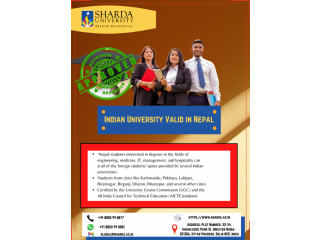 Indian University Valid in Nepal