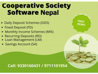 Best Cooperative Society Software in Nepal