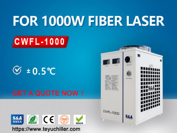 industrial-recirculating-chiller-for-1kw-fiber-laser-cutting-equipment-big-0