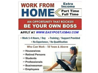 Work from home online jobs vacancy, 1500 candidates hiring